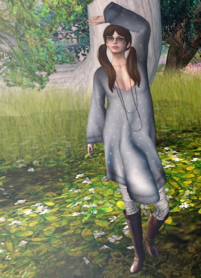 dls Star Boho Dress at Acid Lily