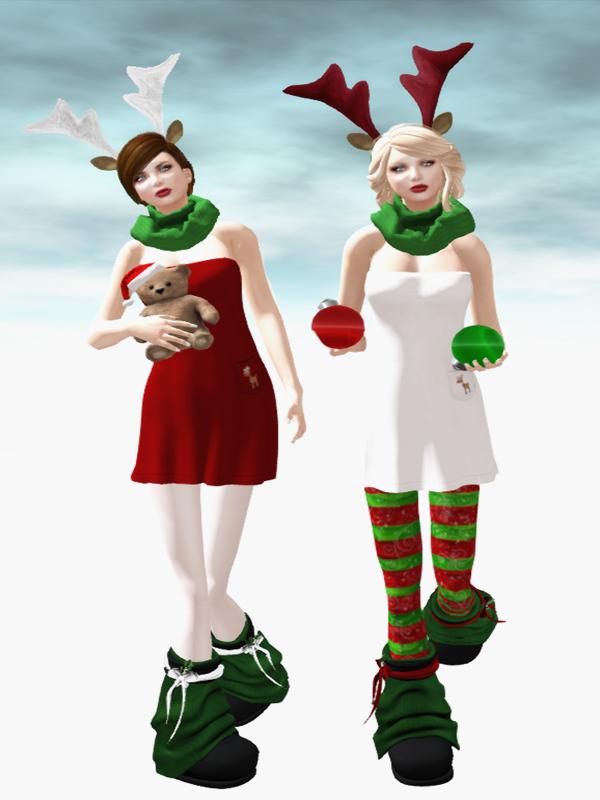 Fiend Santa Helpers at Acid Lily
