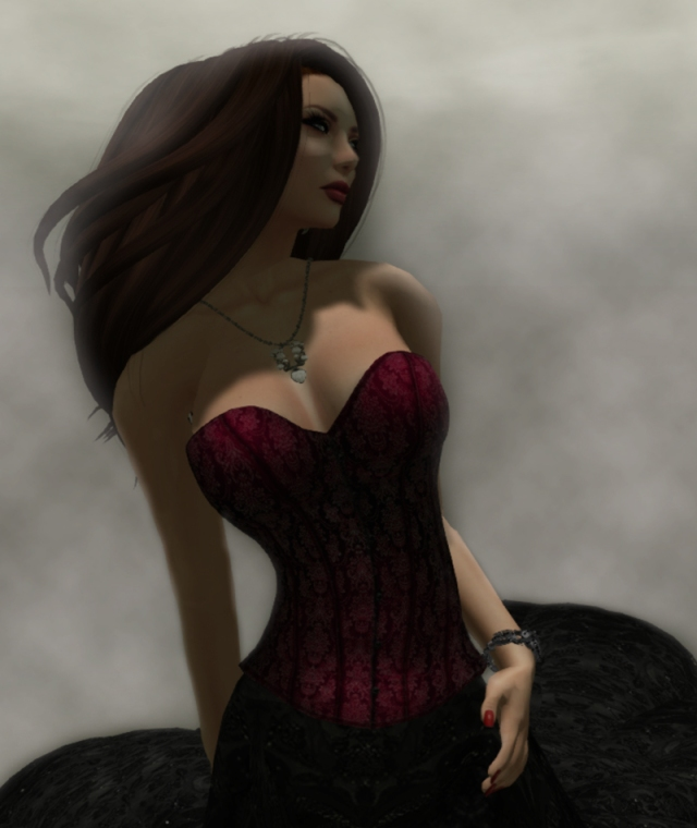 Kaithleen Corset for Acid Lily Close