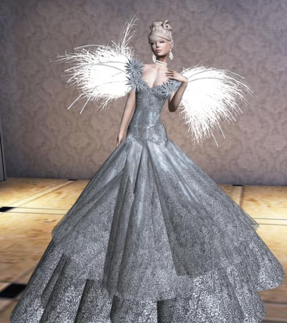 Sascha Embrace Silver