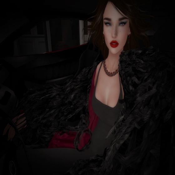 In a getaway car