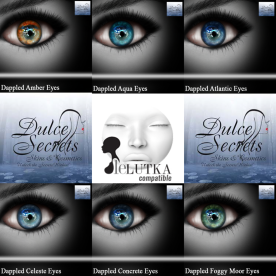 Dappled Eyes Vol 1 LeLutka Display Ad