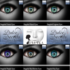 Dappled Eyes Vol 2 LeLutka Display Ad